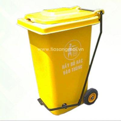 Thùng rác đạp chân ND120DC