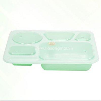 Khay cơm nhựa PP DT-H003